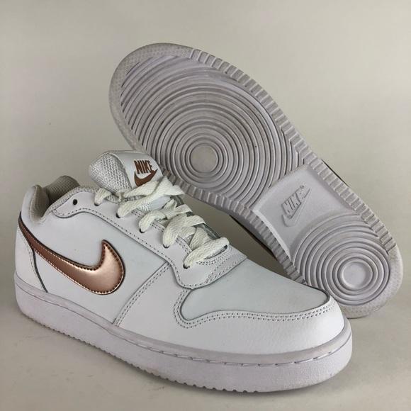 1b25d514 Nike Ebernon Low sneaker White/Rose - women's 7 NWT